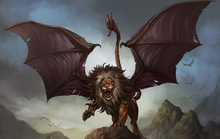 Manticore-wallpaper