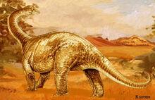 Aegyptosaurus-dinosaur