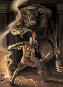 Myth-Theseus and the Minotaur