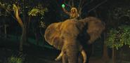 Jumanji 2017 Elephant