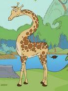 Giraffe, Reticulated (The Cat in the Hat)