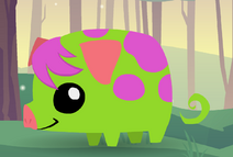 Pet Piglet (Green)