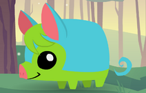 Pet Piglet (Blue and Green)