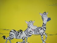 Zebra, Plains (The Cat in the Hat)
