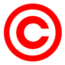Red copyright