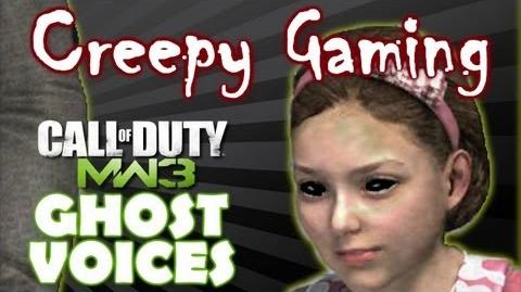 CREEPY GAMING - MW3 Sanctuary Ghost Voices Season 1 - Episode 1