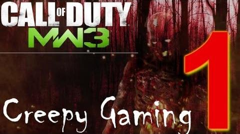 Creepy Gaming Ep.1 MW3 Sanctuary Ghost Voices
