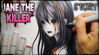Jane the Killer- STORY - Creepypasta + Drawing (Jane's Letter)