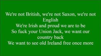 Go On Home British Soldiers with lyrics