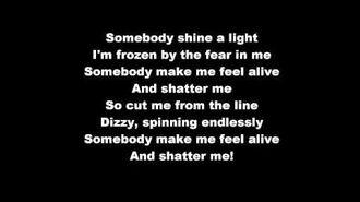 SHATTER ME - Lindsey Stirling ft Lzzy Hale (lyrics)