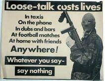 Loose talk costs lives
