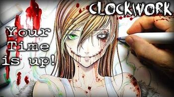 "Clockwork ""Your Time Is Up"" STORY - Creepypasta Reading + Drawing Created by Jordan Persegati"
