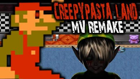 CREEPYPASTA LAND RPG MAKER MV EDITION - FIGHTING SKINNY MARIO!