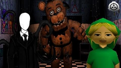 Five Nights at Freddy's in Creepypasta Land 2 SCP Force New Trailer
