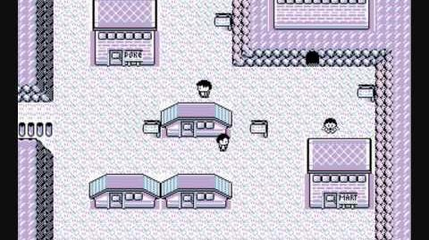 Lavender Town (Original Japanese Version from Pokemon Red and Green)