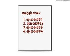 Maggie dvd back