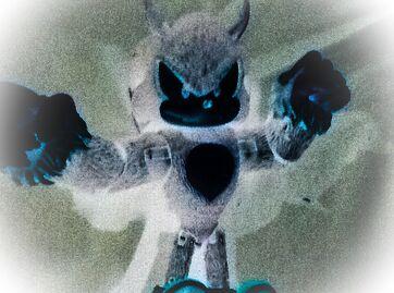 Creepy sonic figure