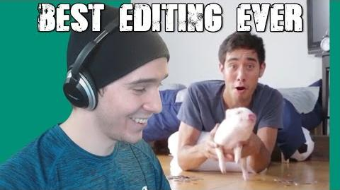 BEST EDITING EVER! - Reacting to New Zach King Vine Compilation 2015