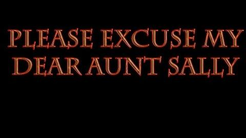 Please Excuse My Dear Aunt Sally