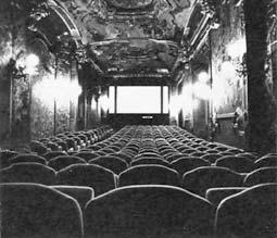 Resultado de imagen para viejas salas de cine pantalla