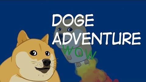 Doge Adventure animated music video MrWeebl
