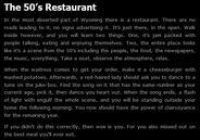 50s Restaurant