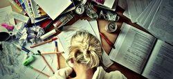 Chica-estudiando