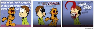 Garfield zalgo 8