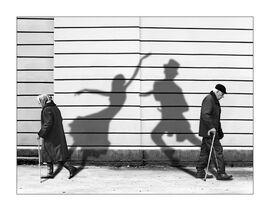 Shadows dancing