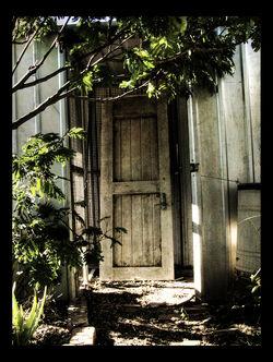 The Scary Door by HoodyBoody