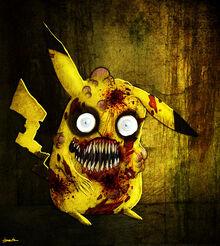 Zombie pikachu 2 by berkozturk-d4n04ow