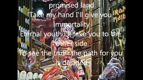 Iron Maiden - Heaven Can Wait (lyrics)