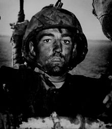 220px-WW2 Marine after Eniwetok assault