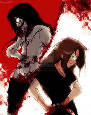 Jeff the killer vs homicidal liu by haozeke93-d5w4kyc