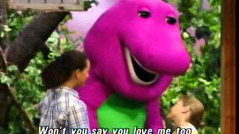 Barney I Love You Song Best Original HQ