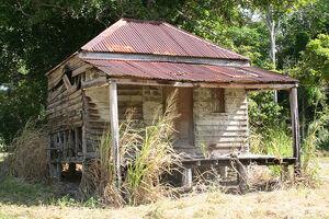 Old broken bones pete shack