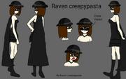 Raven creepypasta base by raven creepypasta-db2pcyr
