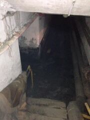 Bottom of the tunnel