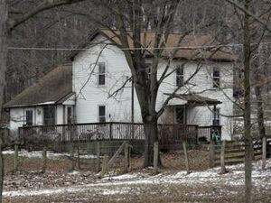 Creepy farm house