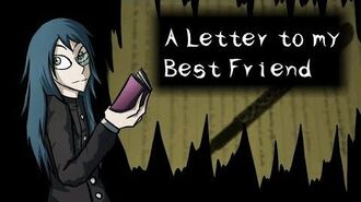 A Letter to my Best Friend -Hörbuch - Thriller-