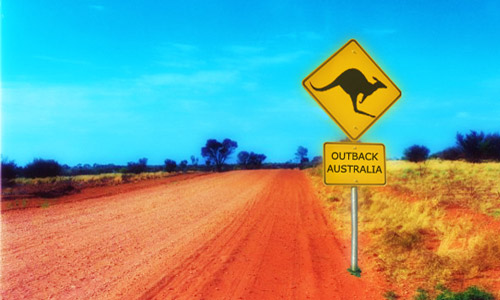dreams in the outback