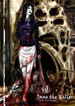 Fan jane the killer by ashiva k i-d83v6yi