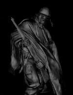 SoldierStatueDark