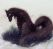 Black Kitsune