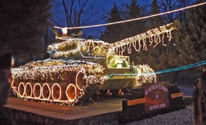 Christmas-tank