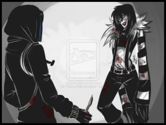 Laughing Jack vs Eyeless Jack