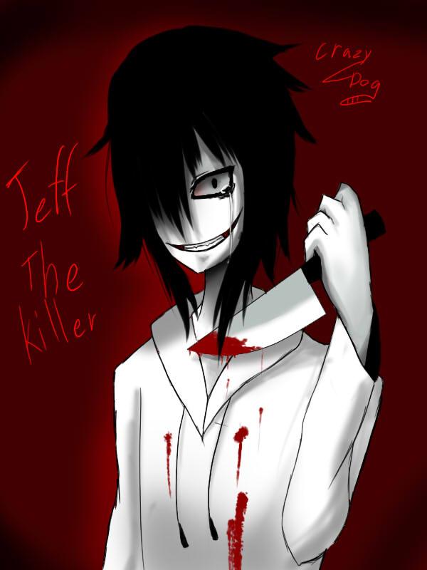 Výsledek obrázku pro jeff the killer creepypasta