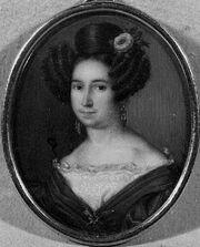 Retrato dama. Col. Gomís. Hacia 1835
