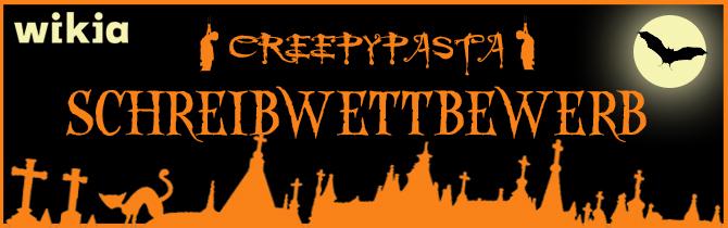 Creepypasta Wettbewerb-Banner