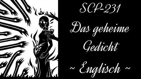 """""""Seven Brides"""" - Das geheime Gedicht von SCP-231 ENGLISCH-0"""